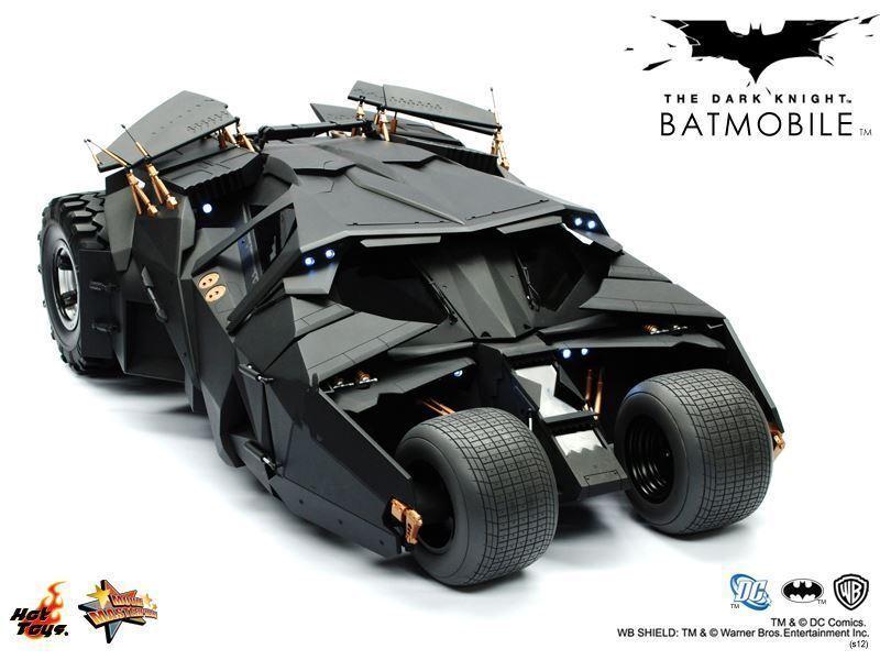 Hot Toys The Dark Knight Tumbler Tumbler Tumbler Batman MMS69 1st Edition MISB 047602