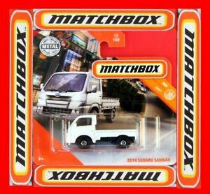 MATCHBOX-2020-2014-SUBARU-SAMBAR-17-100-NEU-amp-OVP