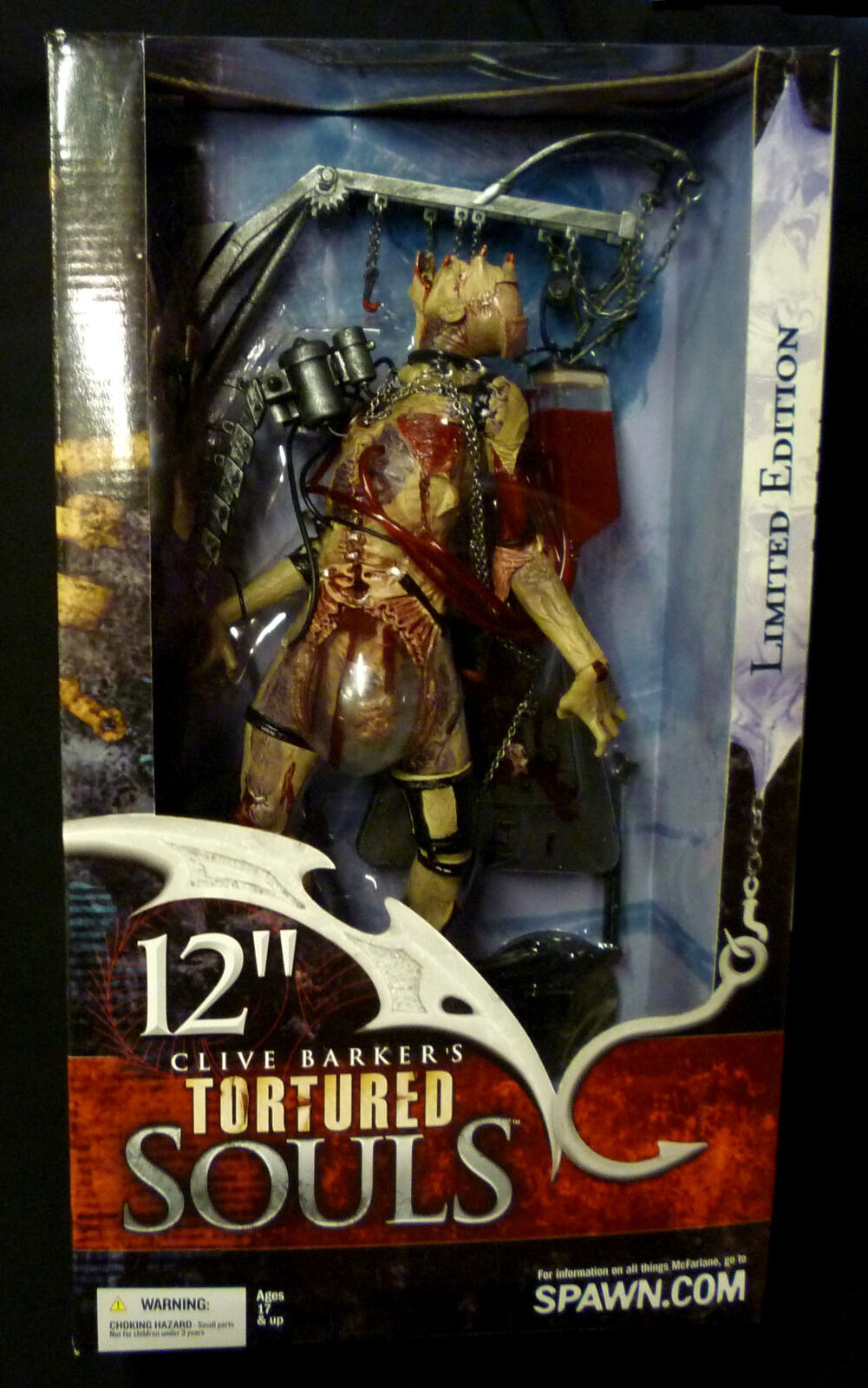 12  Bloody Talisac Action Figure New 2002 McFarlane Toys Tortured Souls Amricons