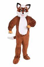 Fox Mascot Costume Adult Standard Size What Does the Fox Say Theme Plush Fun Fur