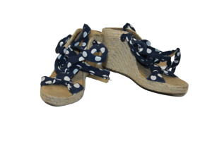 Blue-Spotted-Jasper-Conran-Shoes-Size-36-UK-3-Ladies-Strappy-Heeled-Sandals