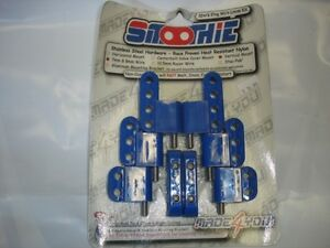 Smoothie Vertical Wire Loom Kit 7-8mm wire blue
