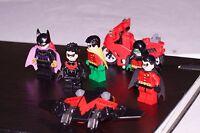 Lego Batman Robin Nightwing Minifigure bundle Minifig Collection lego