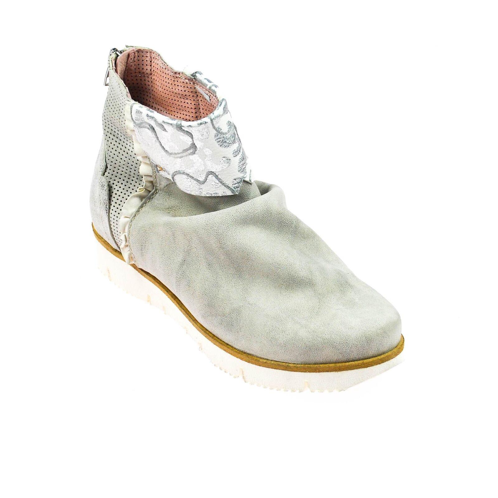 vendita scontata Fascino stivaletti donna scarpe basse basse basse barca pelle grigio bianco argento multicolore  Offriamo vari marchi famosi