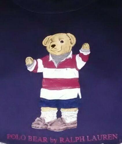 Polo Ralph Lauren Preppy Teddy Bear Sweater 1996