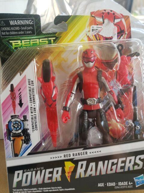 Hasbro Power Rangers Red Ranger - Beast Morphers 6-Inch Action Figure Toy Saban