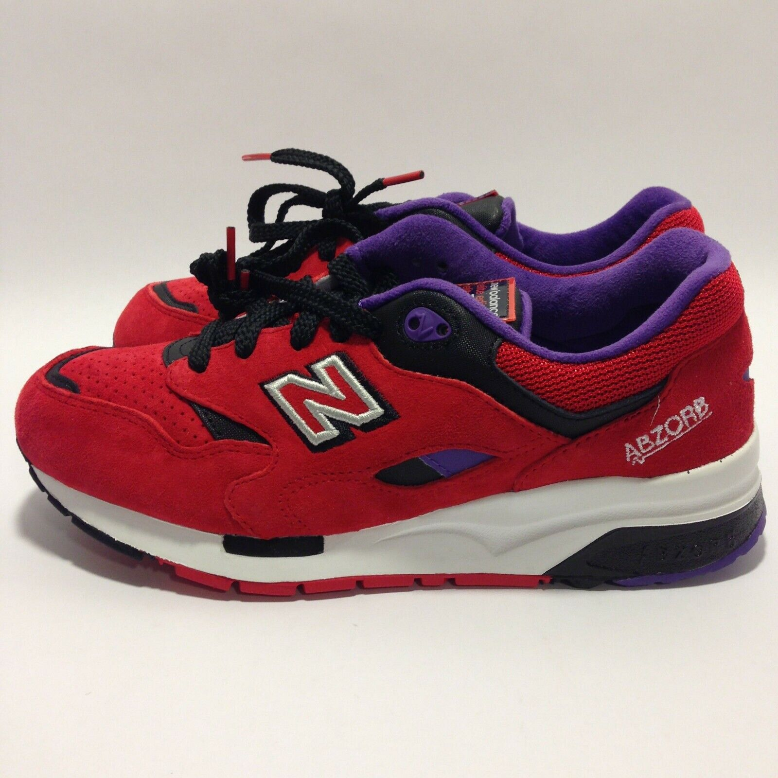 New Balance  Elite  Pinball  (Red Black Purple) Men's shoes Size  7