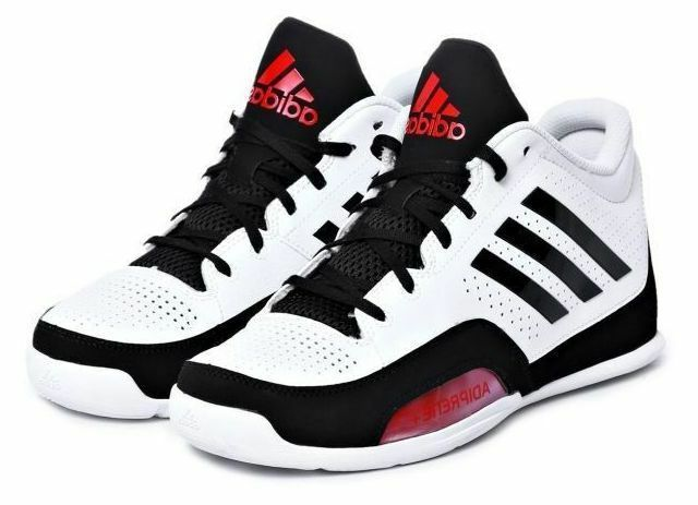 NEW Adidas 3 Basketball Series 2015 White/Black/Scarlet Sportstyle Basketball 3 Shoes D69456 e25dce