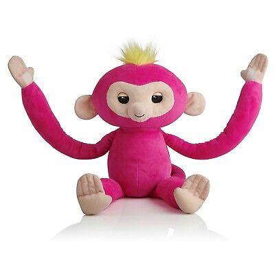 Fingerlings Hugs Bella Pink Monkey Plush Interactive Toy 40 Sounds WowWee for sale online
