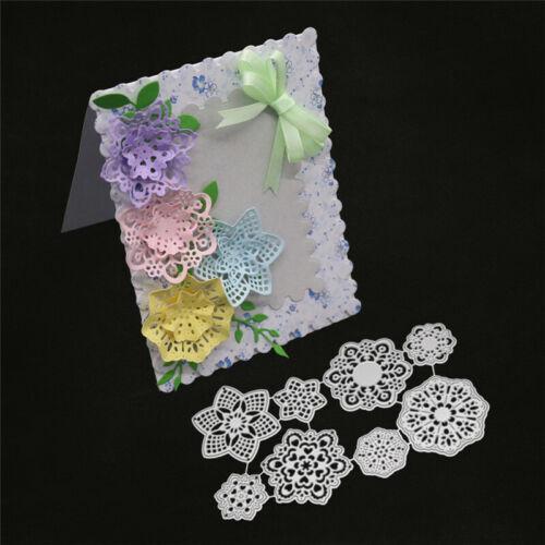 Stanzschablone 3D Blume Hochzeit Weihnachten Geburtstag Oster Karte Album Deko