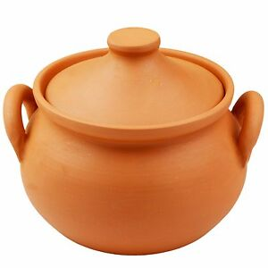 18cm Diameter Other Bakeware & Ovenware 2019 New Style Authentic Chinese One Handle Earthen Clay Pot With Lid