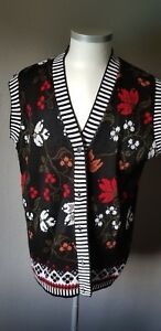 Gr damen cardigan long fabriqué Ruby en Weste Strick Angleterre Xl wZB8qOPA