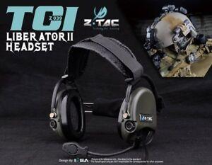 Tactical Headphone zTCI zLIBERATOR II Headset Hunting ...