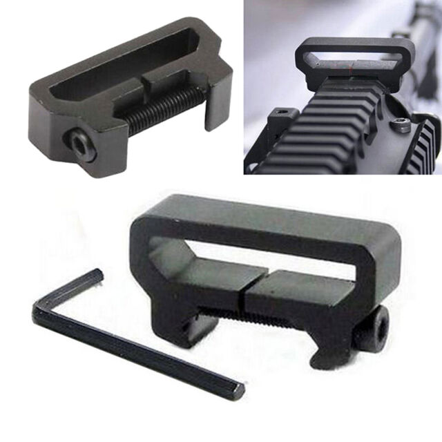 Tactical Hunting Sling Attachment 20mm Weaver Picatinny Rail Mount Adapter