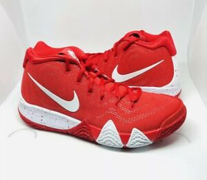 c9559f803d5f Nike Kyrie Irving 4 TB Mens AV2296-600 University Red  White ...