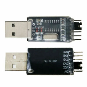 Details about USB to TTL Converter CH340G Chips STC 5V/3 3V 6Pin Uart  Serial Adapter Module