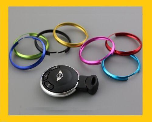 1 anneau en alu porte clef Mini-cooper anneau anodisé couleur argent