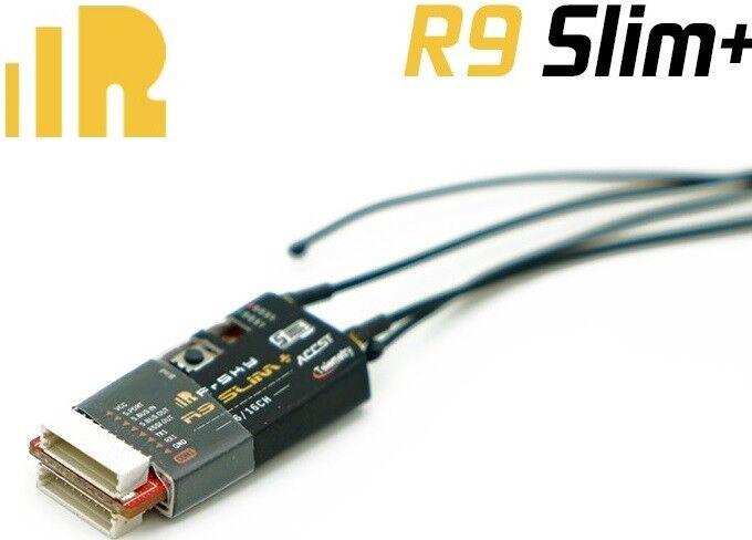 FrSky R9+ R9 Plus Slim Long Range Ricevitore di telemetria 900MHz Firmware aggiornabile