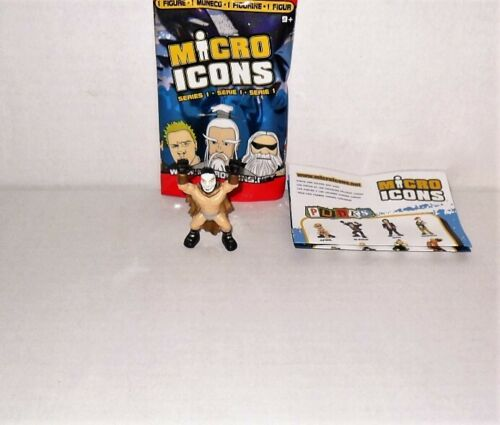 MICRO ICONS SERIES 1 MEXICAN WRESTLERS LOOSE SINGLE FIGURE DIENTES