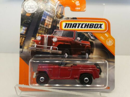 Matchbox MBX 1948er  Willys Jeep Jeepster NEUHEIT 2020