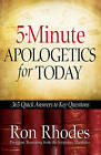 5-minute Apologetics for Today: 365 Quick Answers to Key Questions by Ron Rhodes (Paperback, 2010)