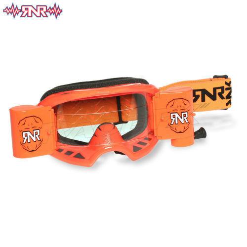 COLOSO DE RIP N ROLL Ancho Vision Sistema OFF GAFAS MOTOCROSS orange neón