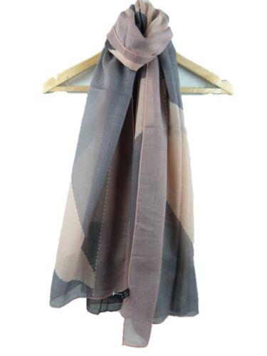 Women Ladies Vintage Chequer Rhombus Print Scarf Shawl Warp Stole Hijab 5 Colour