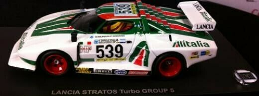 1 43 Kyosho Lancia Stratos Turbo Grup 5 1977 Giro d'italia Raro Nuevo artículo  3141G