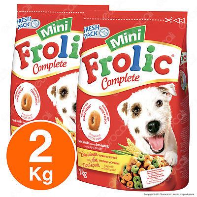 Frolic Mini Cibo Semi Umido per Cani con Carni Bianche, Verdure e Cereali - 2KG