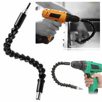 Flexible Shaft Extention Screwdriver Drill Bit Holder Connecting Bits 11 In