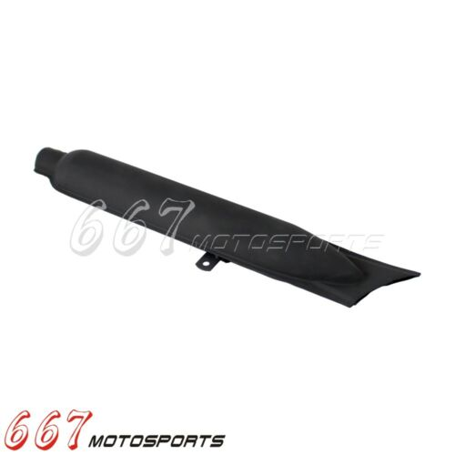 Fishtail Drag Pipe Slip On Muffler Silencer For BMW R71 R12 M72 M1 K750 Dnepr CJ