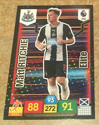Panini Premier League ADRENALYN XL 19//20 Matt Ritchie Elite No.458 Newcastle