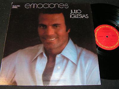 JULIO IGLESIAS Emociones / Mexican LP 1978 COLUMBIA KLS-60.031