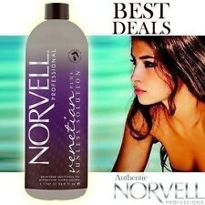 Norvell VENETIAN PLUS Sunless Airbrush Spray Tanning Solution 33.8oz Liter