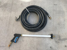 Goodyear 1 14 Hot 250f Pressure Washer Hose 50 Steam Cleaner And Gun Nozzle
