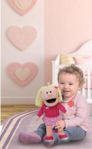 KIDS CHILDRENS marionette ventriloque Moving main mannequin Soft Filles Garçons Jouet Poupée  </span>