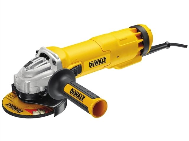 Dewalt 115mm Mini Angle Grinder 1010 Watt 240 Volt with Kit Box DWE4206K