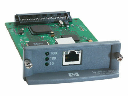 HP JetDirect 625N J7960A Gigabit Ethernet Print Server,Waranty