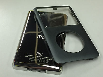 New iPod 6th 6.5 7th Gen Classic Silver Front Faceplate 1TB Back Cover Housing