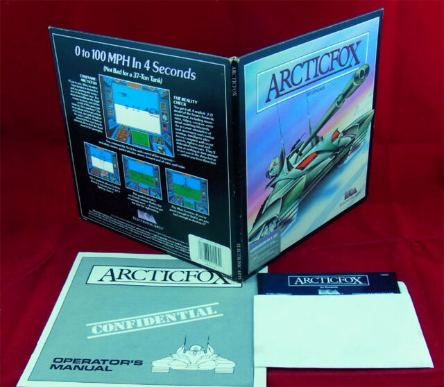 C64: Arcticfox - Electronic Arts 1986