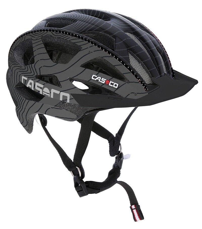 Casco bici CUDA casco negro-antracita talla M 2018   18.04.1654.m