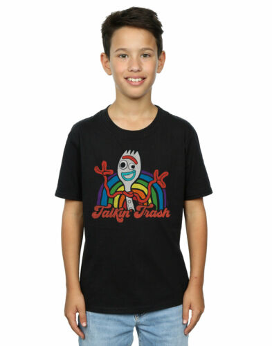 Disney Boys Toy Story 4 Forky Talkin/' Trash T-Shirt
