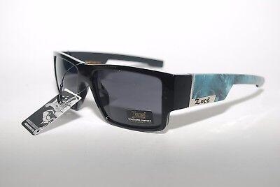Locs Sunglasses HARDCORE Cholo Shades Driving Eazy E Mad Dogger Black Red 9081