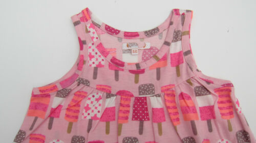 bluezoo debenhams cute summer dress ice lolly or tropical parrot ages 1-6
