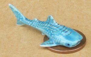 Échelle 1:12 En Céramique Requin Bleu Tumdee Maison De Poupées Pet Poisson Ornement Accessoire-afficher Le Titre D'origine Qualité SupéRieure (En)