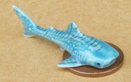 1:12 scala in ceramica Verdesca tumdee Casa delle Bambole Accessorio per Animali Pesci Ornamento