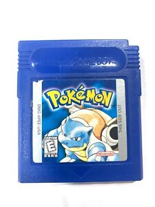 *Authentic* Pokemon Blue Version Game Only *New Save Battery* Nintendo Game Boy