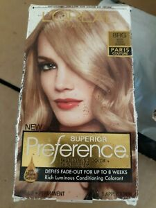 l 39 oreal superior preference paris couture hair color rose gold blonde 8rg nidb ebay