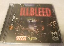 ILLBLEED SEGA DREAMCAST FACTORY SEALED SHIPS FREE TRUSTED SELLER