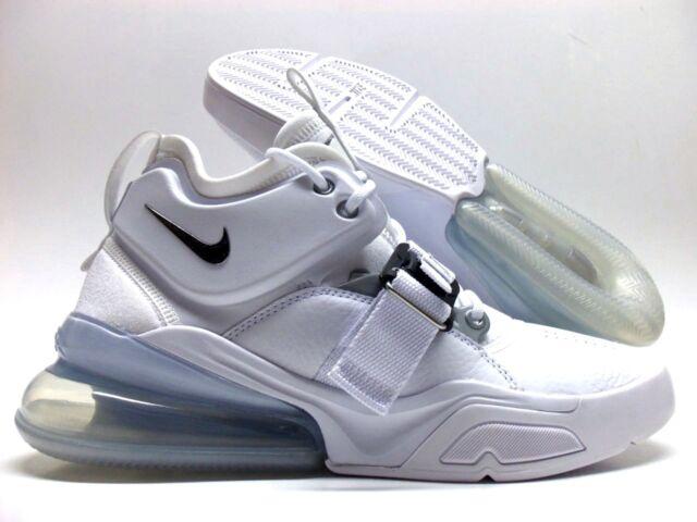 d7019dd1e7 Nike Air Force 270 White/metallic Silver Men's 8.5 Ah6772 100 for ...